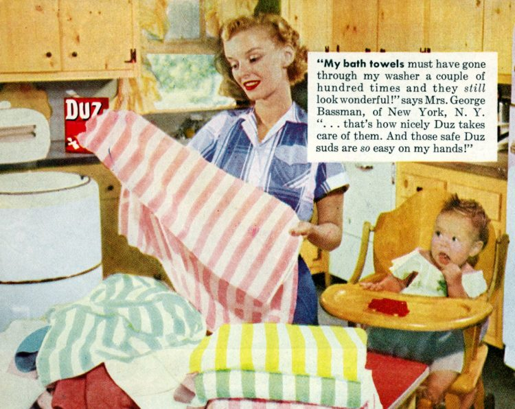 1952 How to be a perfect 50s housewife Cleaning your home