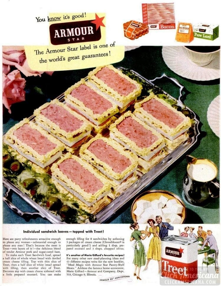 1952 Sandwich loaves