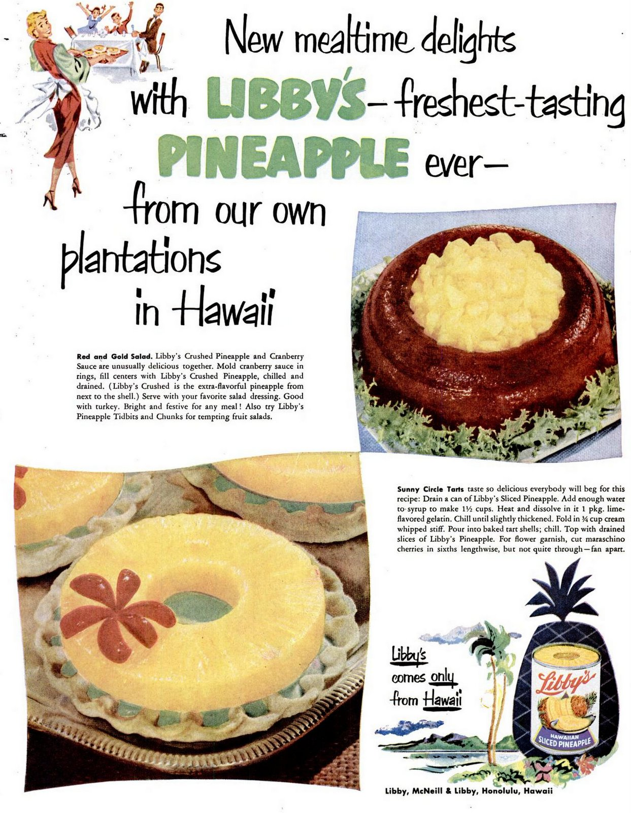 1952 recipes with pineapple