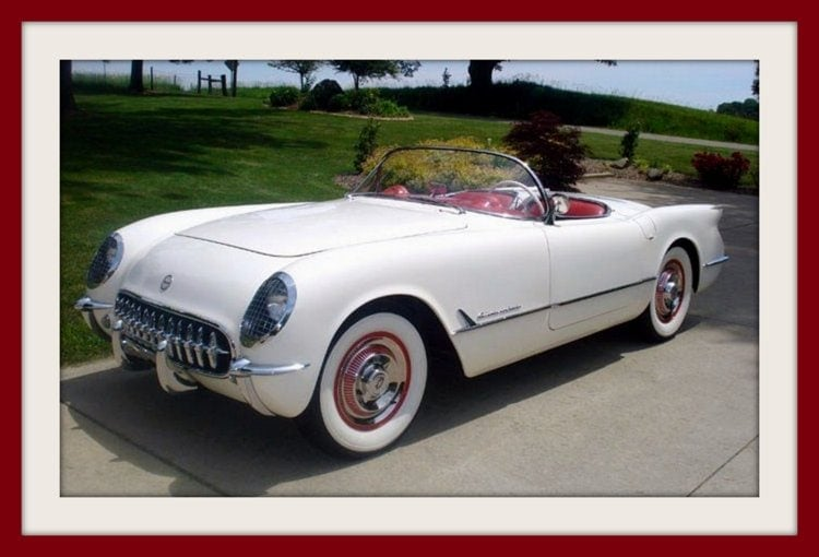 The new Chevrolet Corvette (1953)
