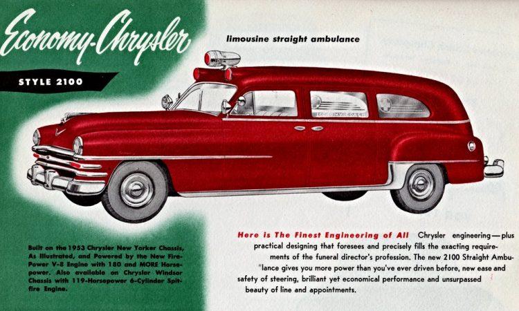 1953 Chrysler Ambulance