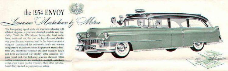 1954 Cadillac Ambulance car models