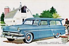 1954 Ford Ranch Wagons 2-door double-duty dandy