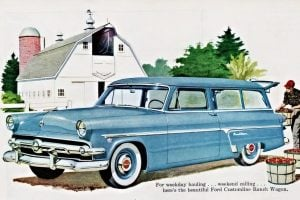 1954 Ford Ranch Wagons 2-door double-duty dandy
