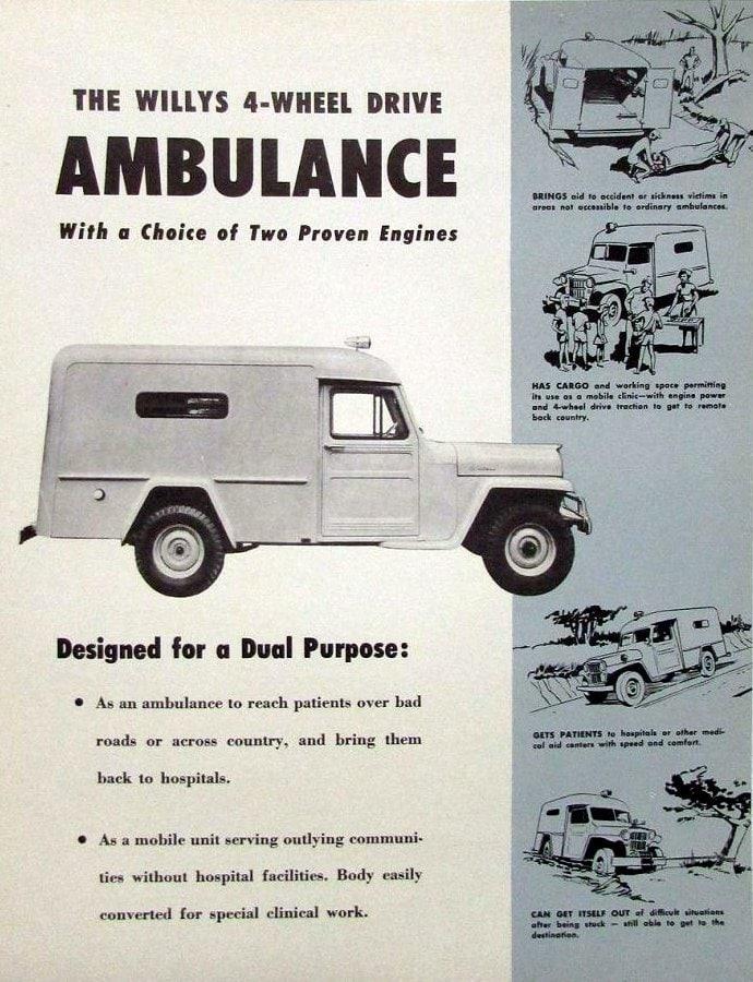 1954 Willys Jeep Ambulance
