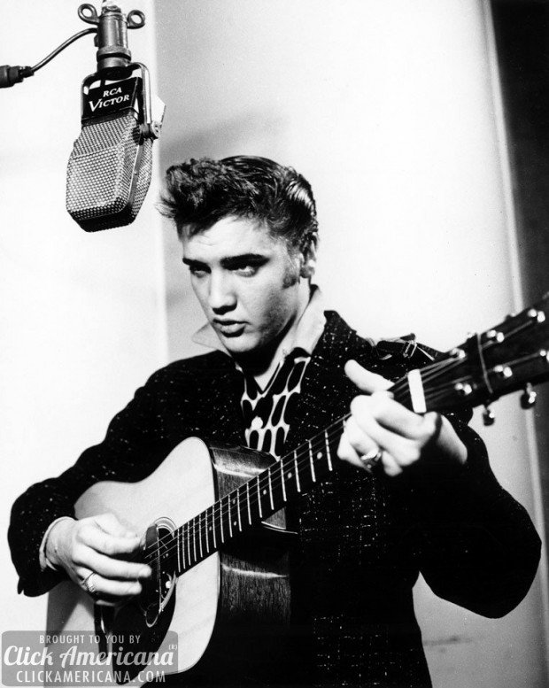 Elvis Amp Sun Records Studio 1954 Click Americana