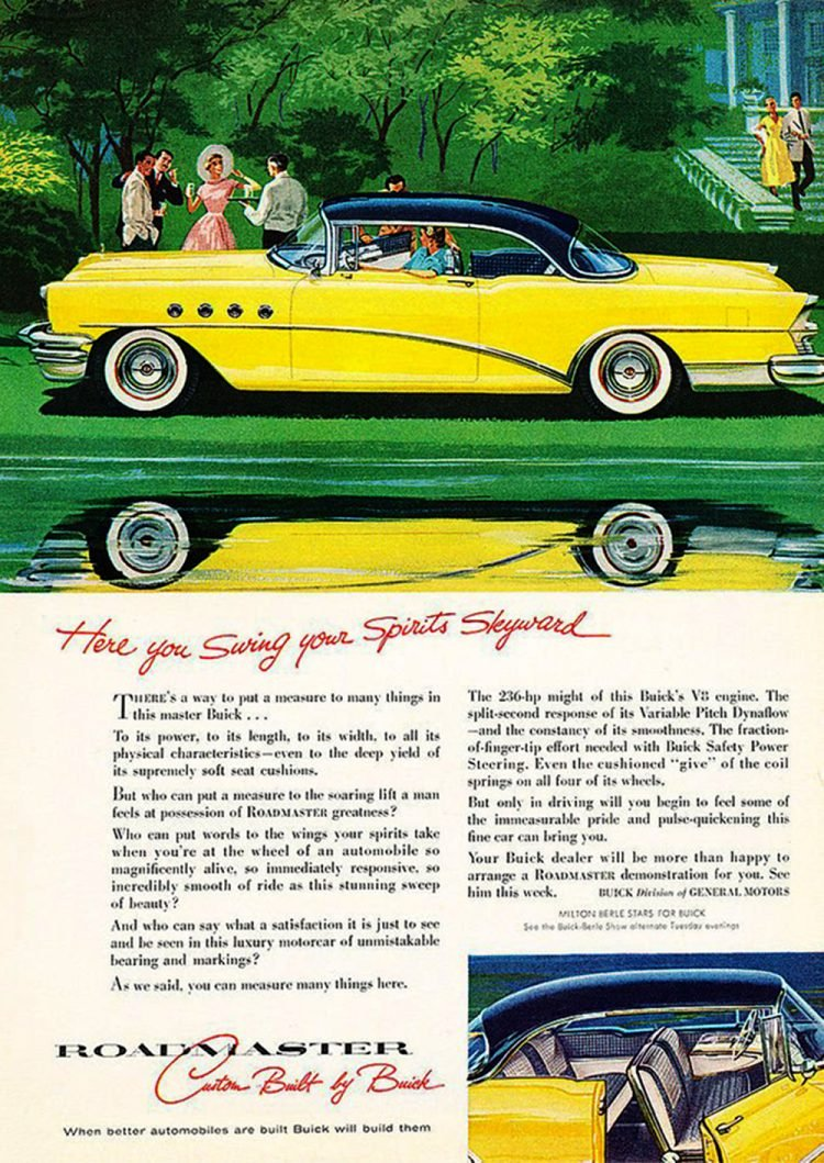 1955 Buick Roadmaster car