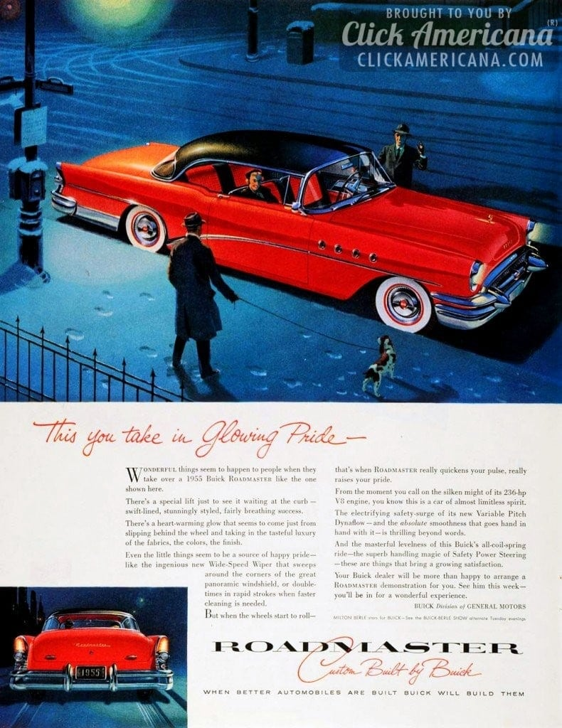 '55 Buick Roadmaster: This you take in glowing pride