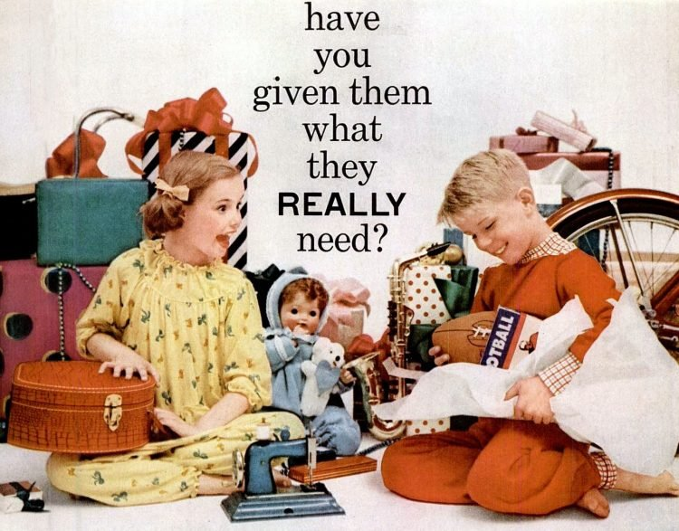 1955 Christmas gifts for kids