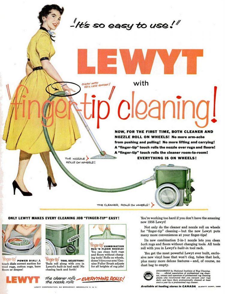 1955 Lewyt Vacuum