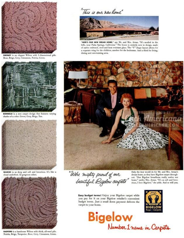 1955 Lucy and Desi for Bigelow carpet (3)