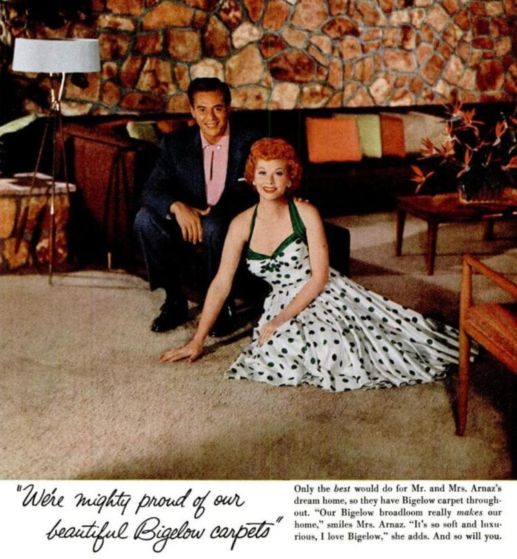 1955 Lucy and Desi for Bigelow carpet (4)