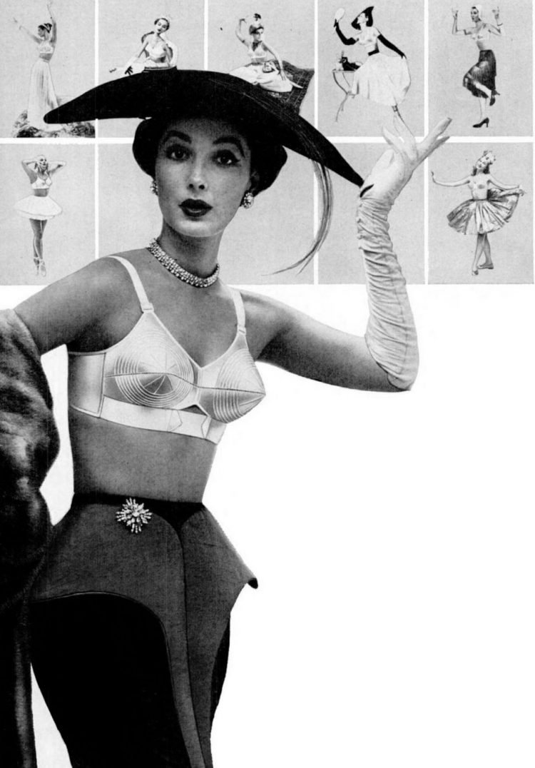 1955 Maidenform bras