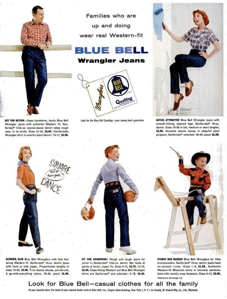 1955 Wrangler vintage jeans