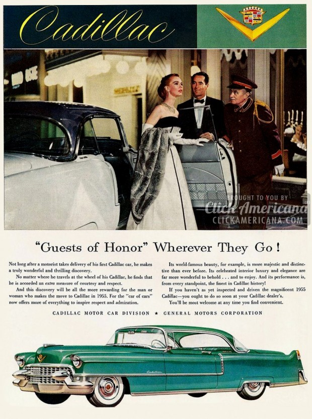 5 cool Cadillacs from 1955 - Click Americana