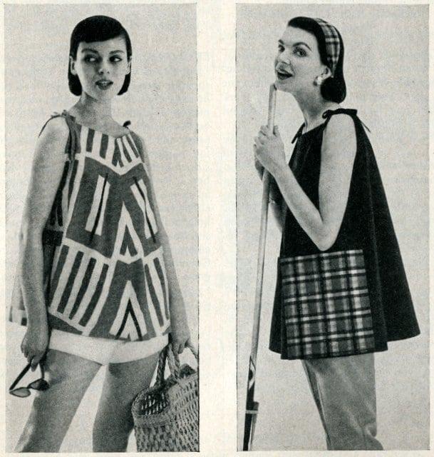 Jiffy-make ponchos (1955)