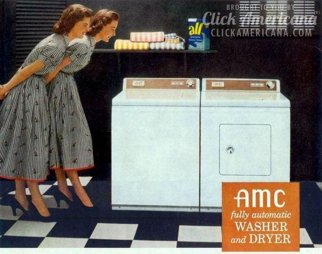 Washing machines in 1955