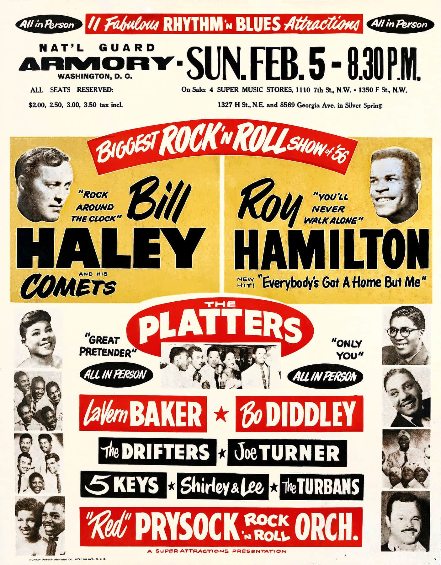 1956 Bill Haley and his Comets - Roy Hamilton Rock 'n Roll Show