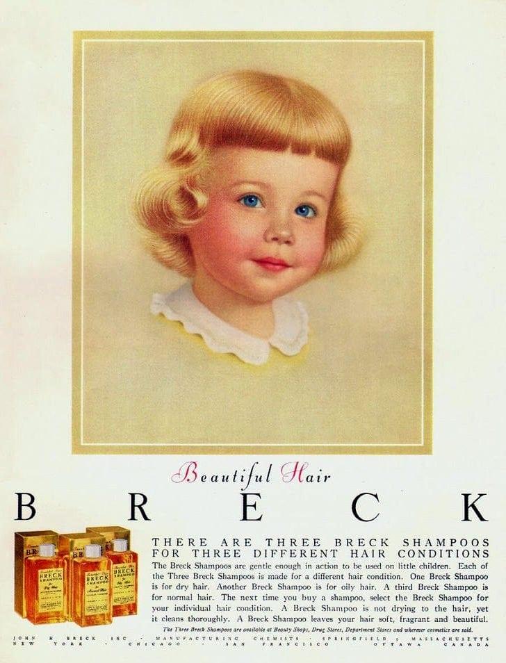1956 - Breck shampoo