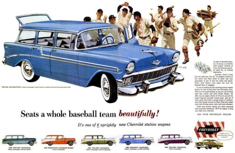 1957 Chevrolet - Seats a whole baseball team