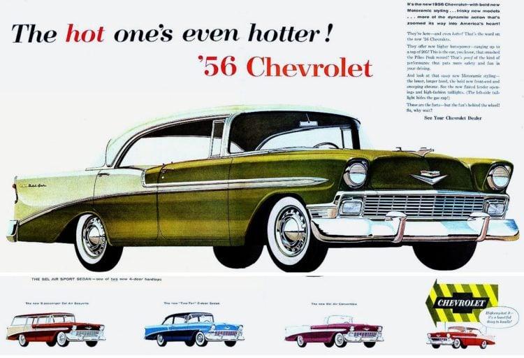 1956 Chevrolet car