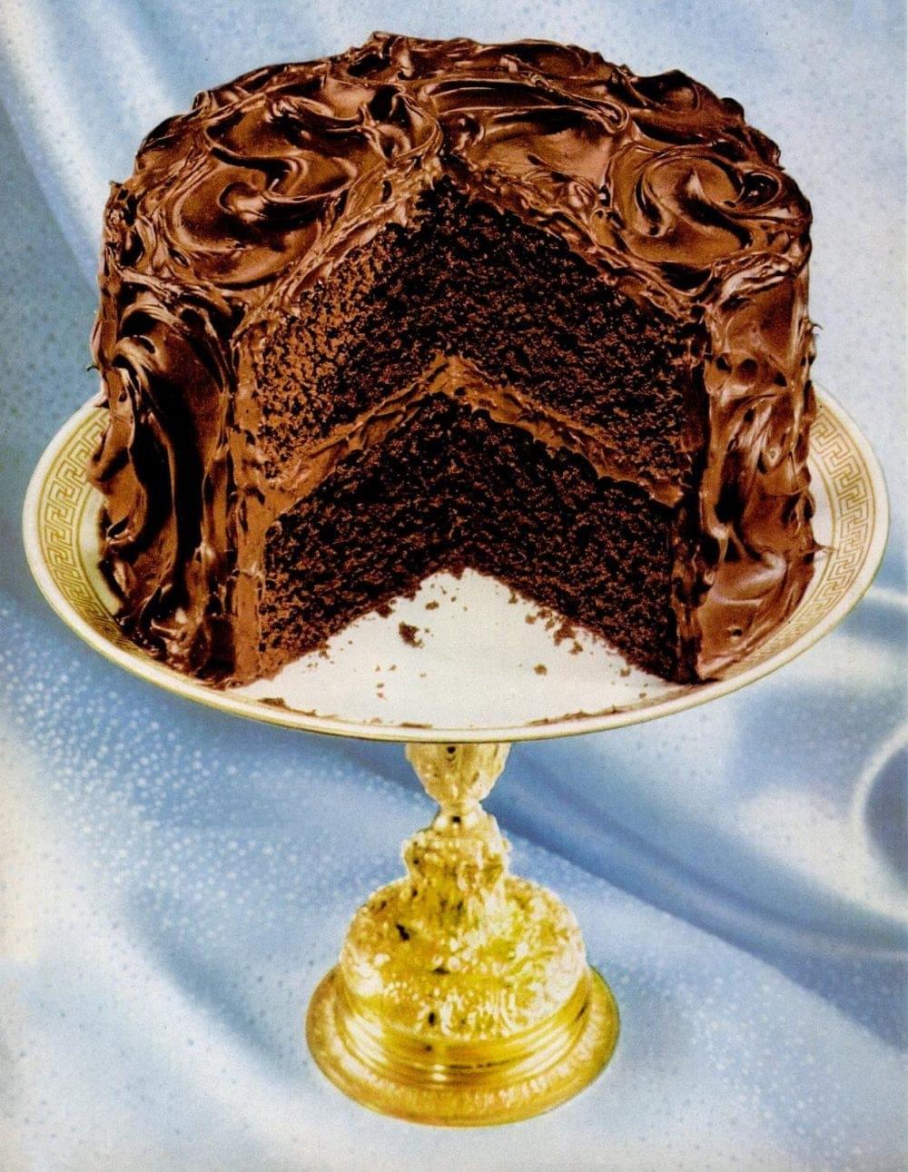 1956 Chocolate cake