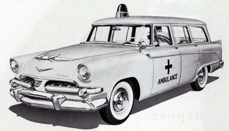 1956 Dodge Ambulance