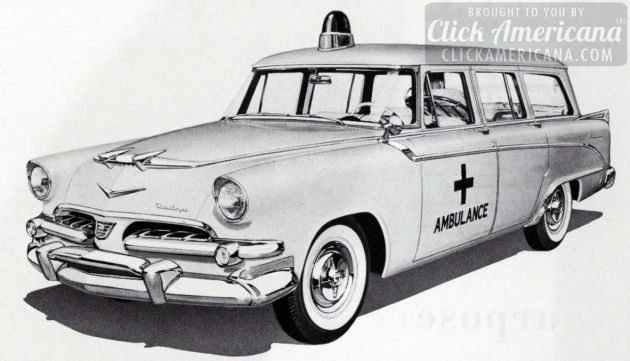 Don Miller Dodge >> Ambulances from the 1950s - Click Americana