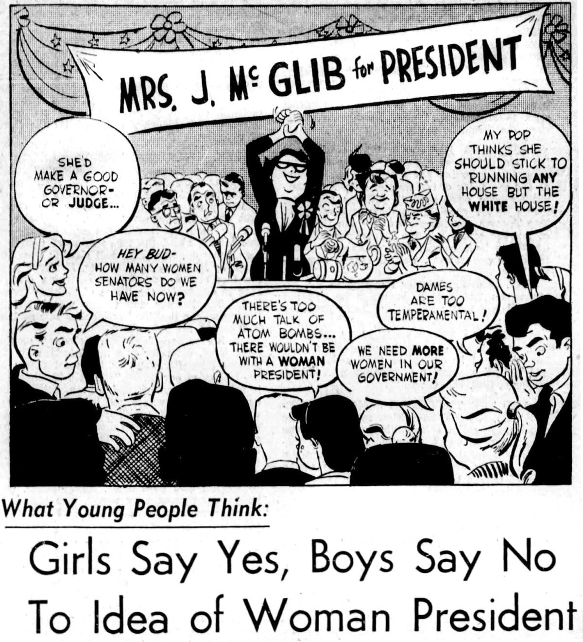 1956 Woman for President