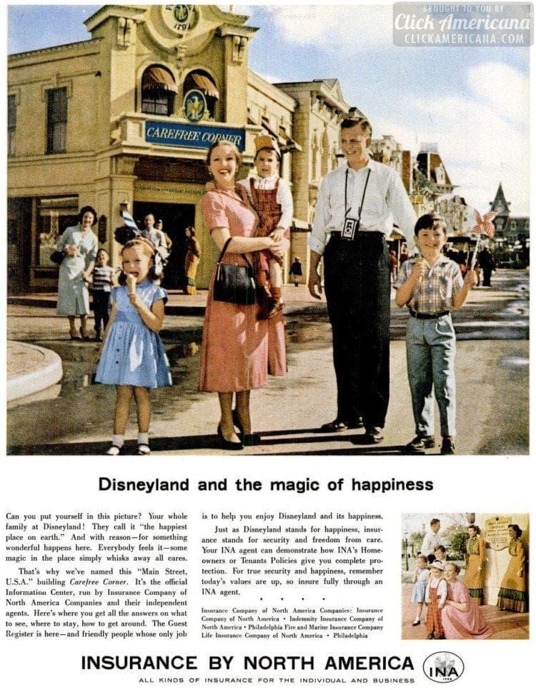 1957 Disneyland