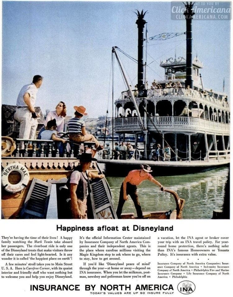 1957 Disneyland steamboat