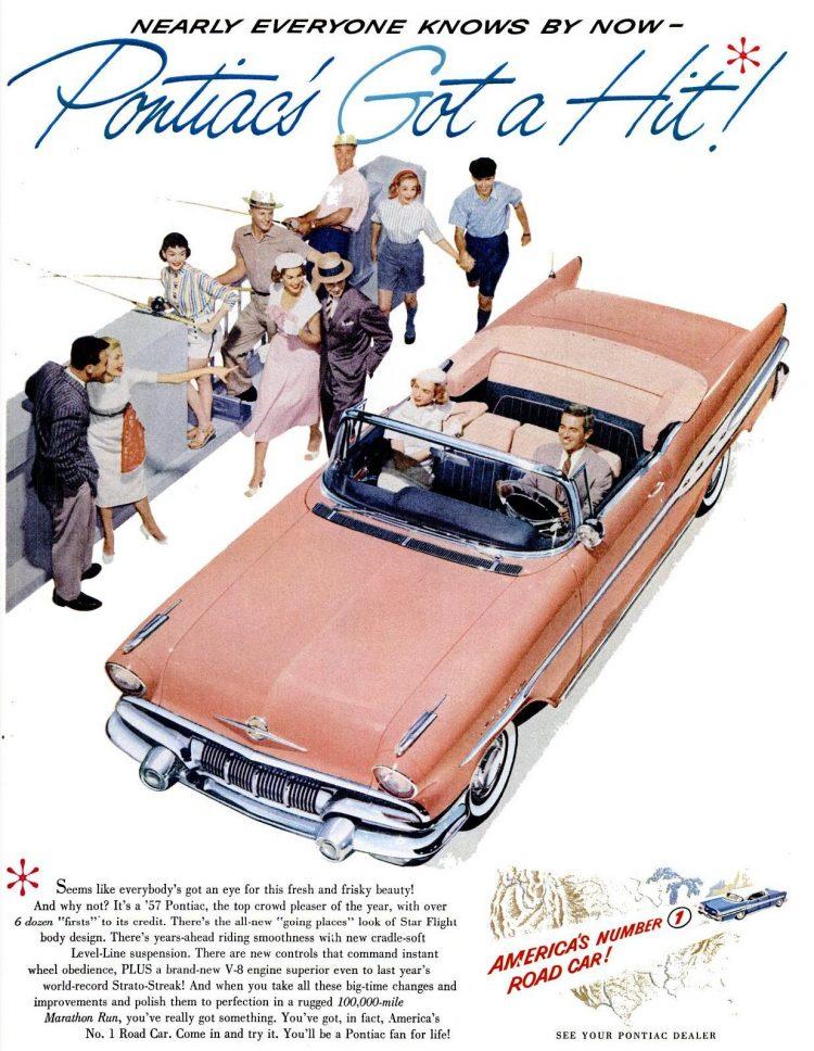 1957 Pontiac cars