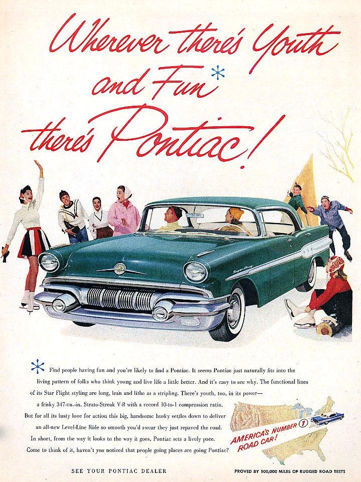 1957 Pontiacs - (1)