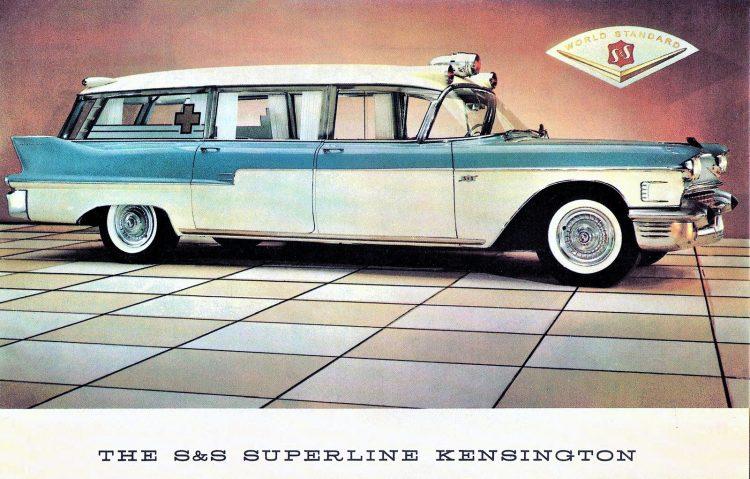 1958 Cadillac Superline Kensington Ambulance