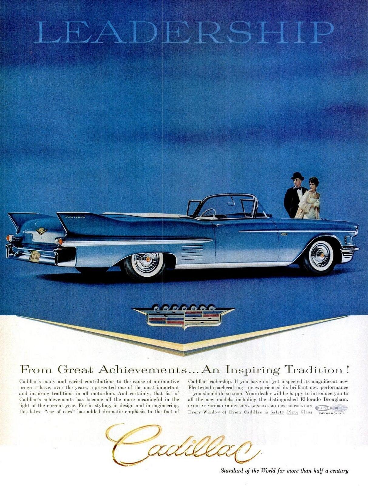 1958 Cadillac cars
