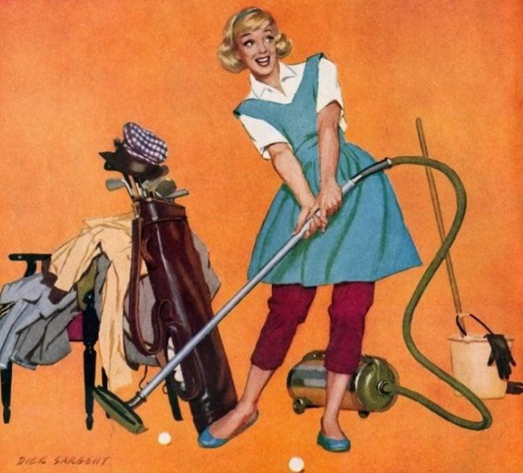 1958 Grape Nuts - housewife