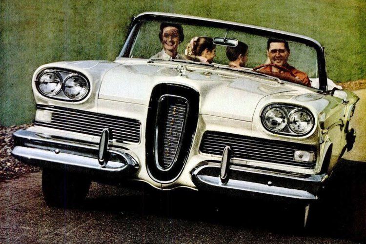 1958 Vintage Ford Edsel cars
