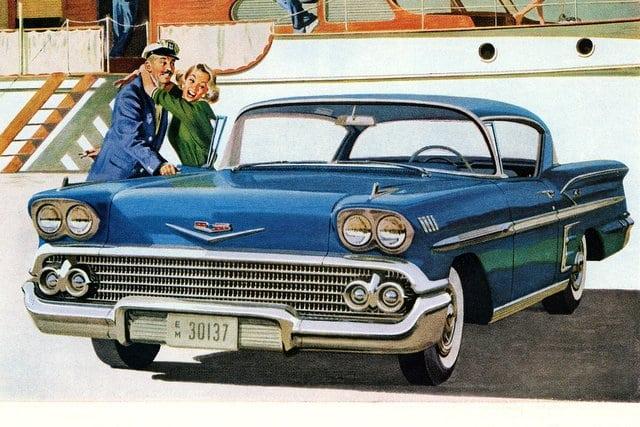 1958 Chevrolet convertibles & sport coupes