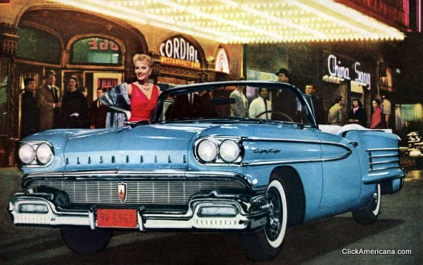 1958 Oldsmobile's dramatic new look (1957)
