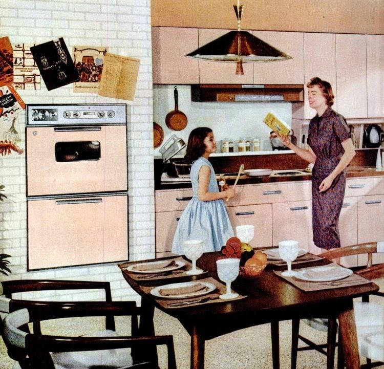 1959 GE pink kitchen decor