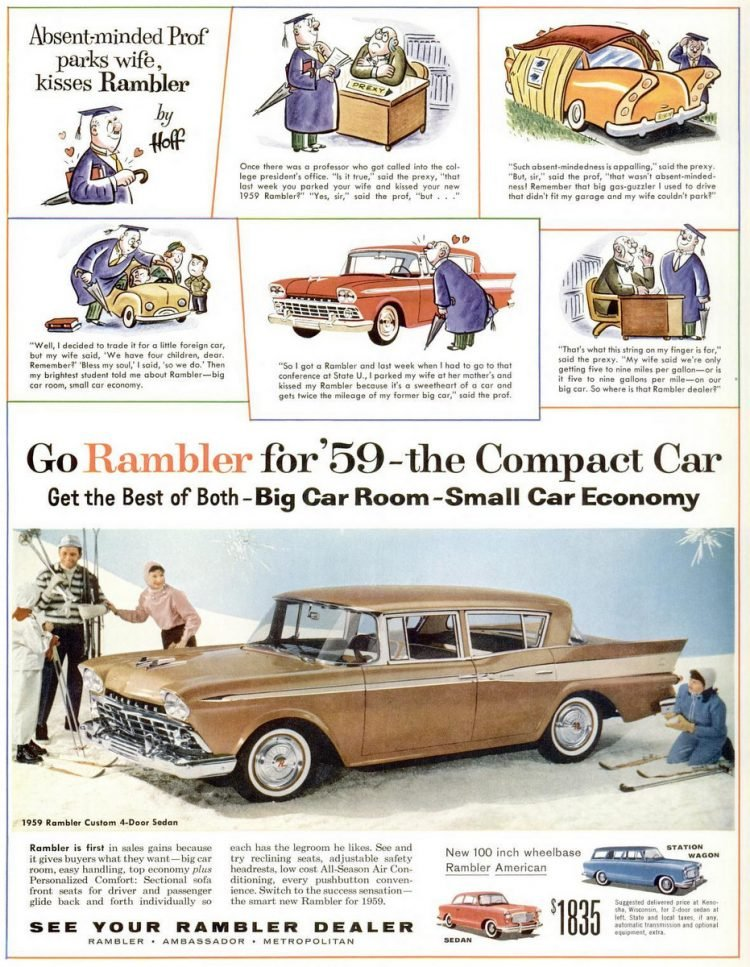 1959 Rambler custom 4-door sedan