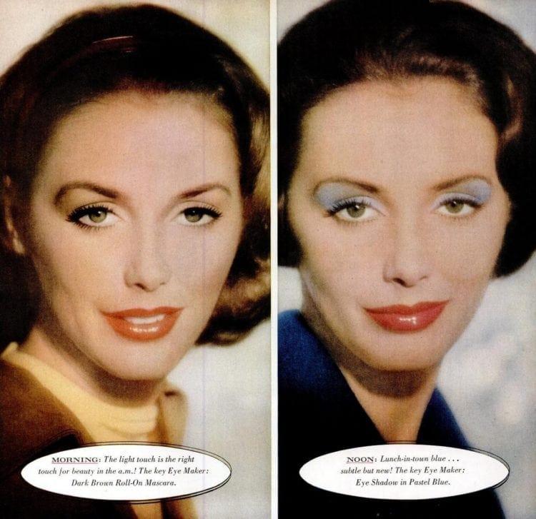 '50s makeup eye shadow