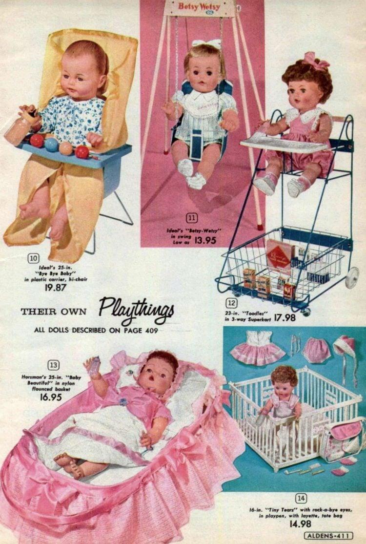 1960 Betsy Wetsy doll toys