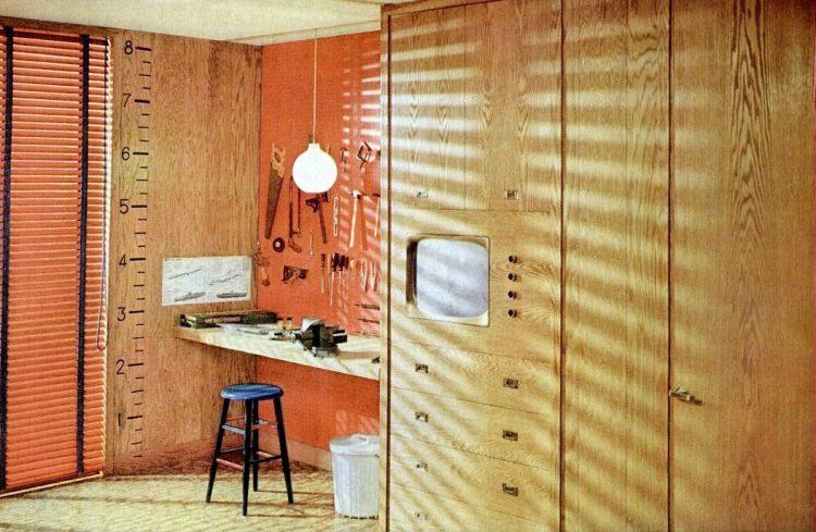 1960 Boy's bedroom - Home decor