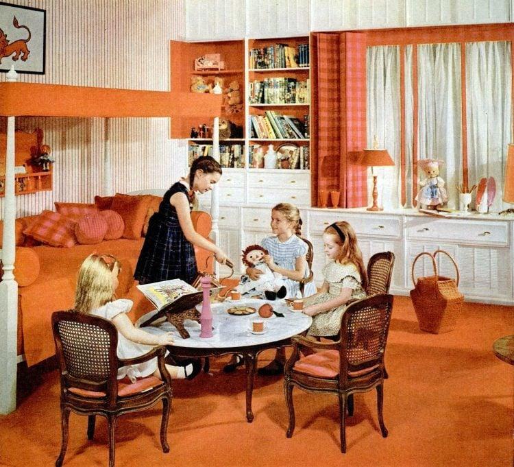 1960 Cute bedroom home decor