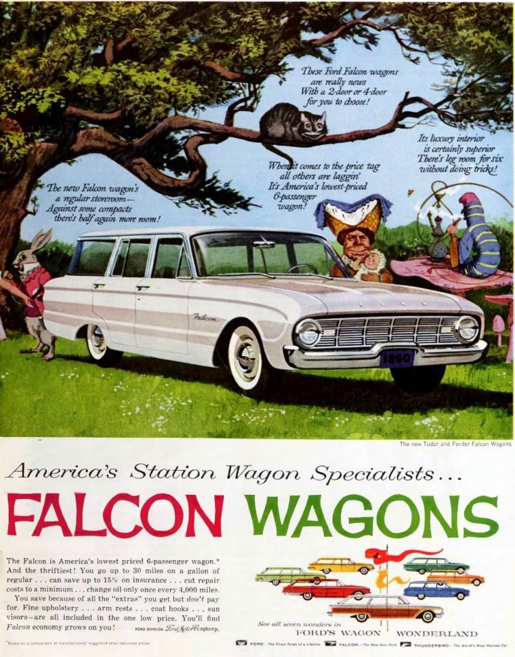 1960 Ford Falcon station wagons (1)