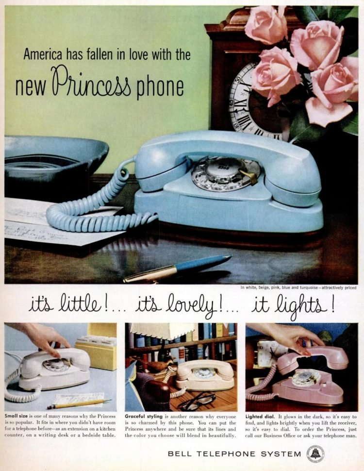 1960 Princess phone