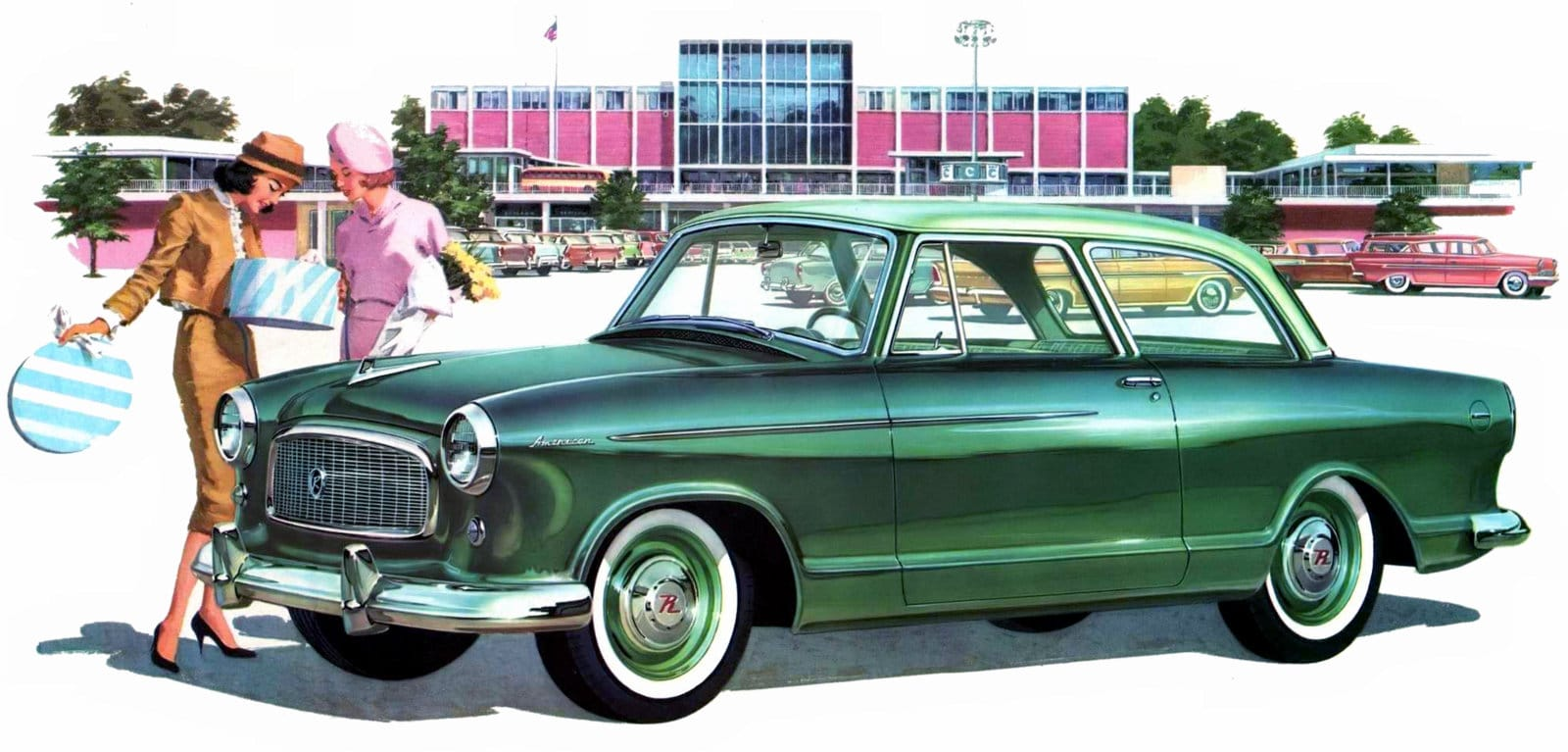 1960 Rambler American Super Club Sedan - Classic cars from the sixties
