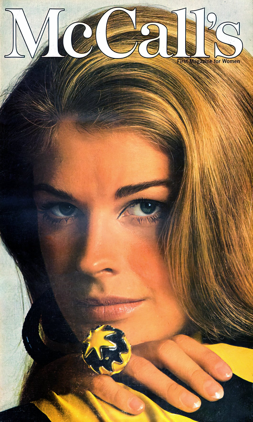 1960s Candice Bergen on McCalls magazine cover