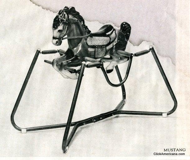 Mustang Wonder Horse